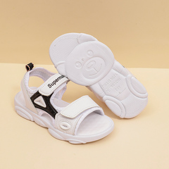 Kids Sandals Outdoor Sport Sandals Summer Breathable Mesh Water Sandals for Boys Girls black 27