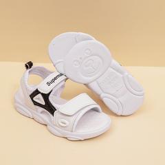 Kids Sandals Outdoor Sport Sandals Summer Breathable Mesh Water Sandals for Boys Girls black 27