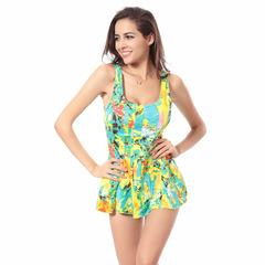 2019 Womens Plus Size Sexy Lingerie Swimwear Summer Beach Bathing One-piece Swimsuit XXXL FE14 as picture l