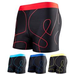 Plus Size Men Swimwear Bathing Suit Surf Beach Male Swimming Swimsuits Trunks FE15 Random L