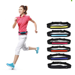 Outdoor Sport Jogging Bags Stretch Waterproof Package Pack Unisex Running Jogging Waist Bags - FE19 random Stretch-Size