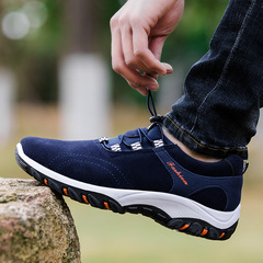 Nice Mens Shoes Man Outdoor Hiking Shoes Male Casual Fashion Sports Sneaker blue 39