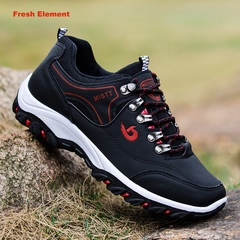 Mens Shoes Outdoor Hiking Sneaker Fashion Man Sports and Casual Shoes Running Trainer Travel black 39
