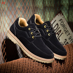 Mens Shoes Man British Style Shoes Male Casual Shoes Work Shoes Business Men's Shoes black 39 Suede