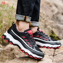 Mens Shoes Men's Sneaker Sports Shoes Man Casual Shoes Outdoor Hiking Shoes Male Running Trainer black 39