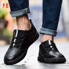 Mens Shoes Man Casual Shoes Business Style Men's Fashion Sneaker Male Shoes black 39