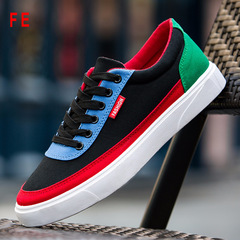 Mens Shoes Mixed-color Sneaker Man Student Shoes Canvas Men's Trainer Sports Men's Casual Shoes 1 43