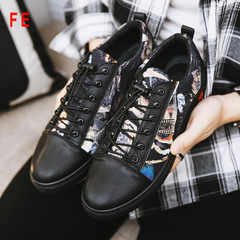 Mens Shoes Social Spirit Guy Shoes Summer Man Casual Sneaker Korean Shoes Lazy Shoes 1 39