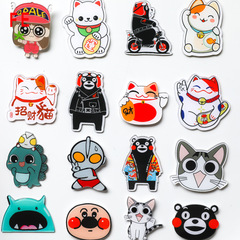 FE Cartoon Acrylic Material Fridge Refrigerator  Magnets Whiteboard Sticker Kids Gift random 6pcs/lot