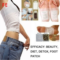20pcs Body Detox Foot Patch Feet Care Detoxifying Foot Patches Pads Improve Sleeping Slim as picture