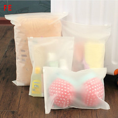3pcs Swim Bags Travel Pouch Swimming Bag Sealed Waterproof Transparent Ziplock Bag For Clothing Bras 20*28cm