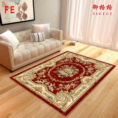 FE NEW Nordic Style Printed Carpet European Classical Style For Living Room Bedroom Colorful as picture 40*60CM