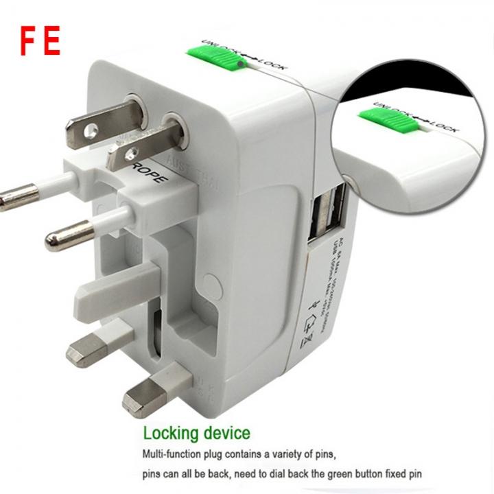 EU Europe Female to US USA Male Wall AC Power Plug Travel Adapter Converter KA