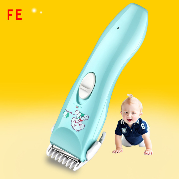 FE Baby Electric Hair Clipper USB Rechargeable Hair Trimmer For Baby Hairdressing Tool Low Noise as picture 18*3CM