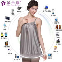 Best Radiation Protection - Maternity Wear Radiation Protection Strap Silver Fiber Wearing Clothes grey L
