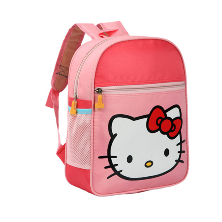 [Crazy Discount!] Cute Kid School Bags Backpack Children Girls Boys Schoolbag Cartoon Animal Bag pink