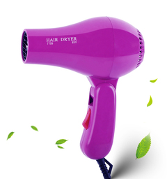 Foldable Portable Mini Hair Blow Dryer 850W Traveller Hair Dryer Compact Blower 220V as picture 14*20cm