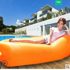 Outdoor Sofa Sleeping Bag Cushion Portable Air Sofa Cushion Beach Lunch Break Lazy Pocket Cushion random as picture