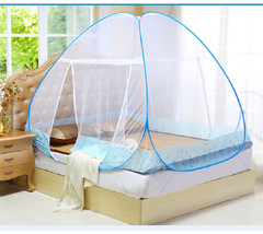 Mosquito Net For Home Bed Tent  Student Bunk Bed Mosquito Net Mesh Adult Double Bed Netting Tent blue 100*190*110CM