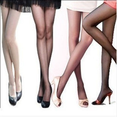 4 Pairs Of Sexy Stockings High Elastic Underwear Women Lingerie Nylon Pantyhose Long Thigh Medias black 4Pcs/lot