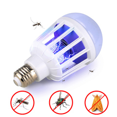 Mosquito Killer Bulb LED Bulb For Lighting Bug Zapper Trap Lamp Insect Anti Mosquito Repeller Light white E27 220V