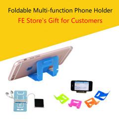 1 PCs Foldable Multi-function Phone Holder Fresh Element Store's Gift random as picture