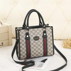 Womens Bags New European Carnival Big Bag Fashion Trend Single Shoulder Diagonal Handbag black 27CM*12CM*22CM