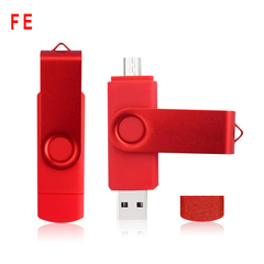 Colorful OTG USB Flash Memory Stick 64GB 128GB Pendrive U Disk USB Flash Drive For PC Android Phone red 64G