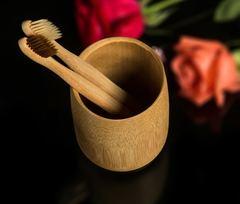 Bamboo fiber toothbrush tooth brush