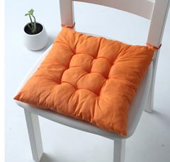 2est Daily Tatami setting cushion sitting office chair cushion cushion stool cushion Orange 40*40CM