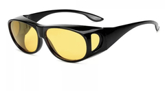 2EST Daily Sports cycling goggles men and women HD driving dedicated driving  Fashion Sunglasses yellow