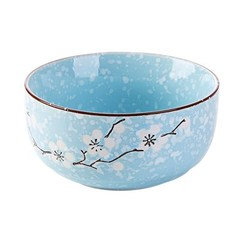 2est Daily Ceramic bowl home Japan bowl soup container blue 11.3cm*5.8cm