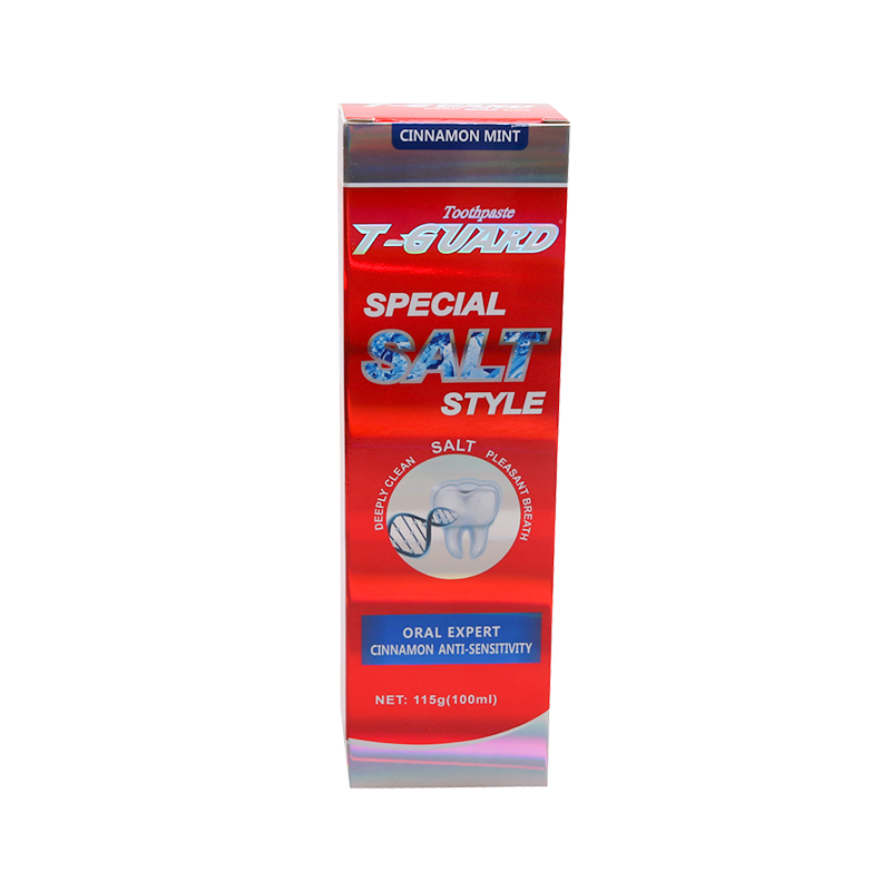 Toothpaste T-GUARD Special Salt style(Cinnamon Mint) red 1
