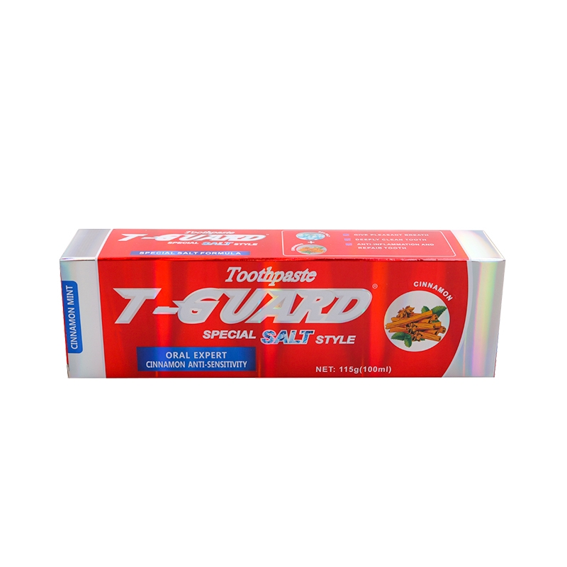 Toothpaste T-GUARD Special Salt style(Cinnamon Mint) red 2