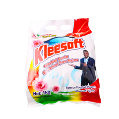 Kleesoft Washing Powder with Rich Perfumed Flower Fragrance(1000g) as the picture 1000g