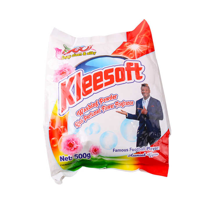 Kleesoft Washing Powder with Rich Perfumed Flower Fragrance(500g)(130012465) as the picture 500g