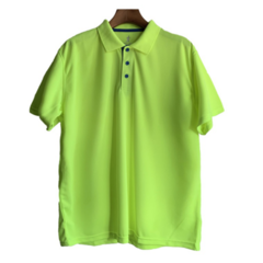 Breathable Men's Polo Shirt For Men Desiger Polos Men Short Sleeve shirt Clothes Plus Size Men Tops green l polyester&cotton