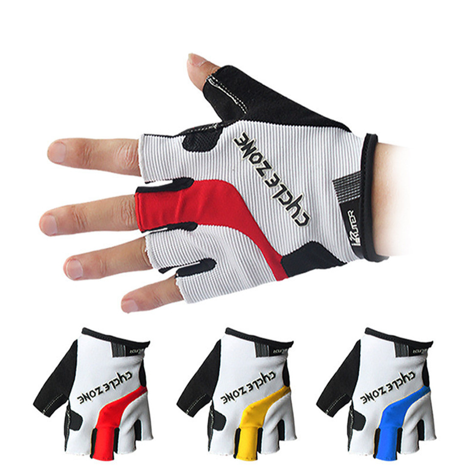 Bicycle cycling gloves mountain bike short finger outdoor sports half finger gloves new Red M: Product No: 11971516. Item specifics: Brand: