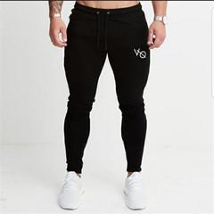 A comfortable men's trousers fashion sports casual pants black feet pants black s