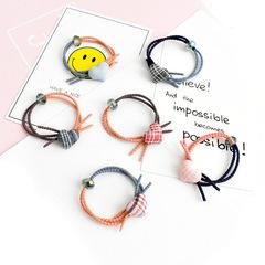 24 Pcs  Women's fashion hair band hair rope hair clips accessories random 1Pcs random