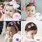 Baby hair band children's hair accessories princess newborn headdress girl head flower headband random