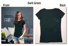 18 Color S-3XL Plain T Shirt Women Cotton Elastic Basic T-shirts Female Casual Tops Short Sleeve black s