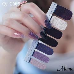 4pcs Fashion Full Cover Polish Packaging Adhesive Paper Nail Art Pregnant Woman Manicure Tools 1033 *4pcs