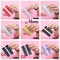 1PC (14 Stickers) Glitter Nail Durable Sequin Waterproof Patch Environmentally Pregnant Woman 12 pcs random