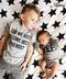 Newborn Baby Boy Brother Infant Fashion Bodysuit Romper Playsuit Jumpsuit Outfits Sets T-shirt grey size2    8-12m cotton