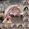 1pcs Women Ladies Yoga Elastic Hairband Bow Knot Headband Solid Color Hair Hoop random