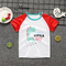 Children's T-shirt 100% cotton child short sleeve 1# 80 cotton