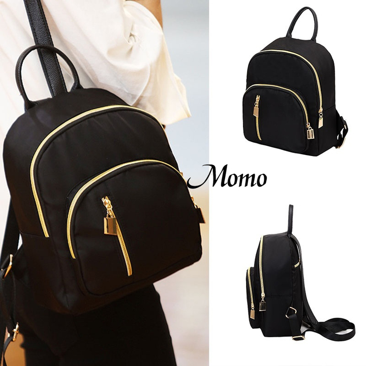 Women's fashion Girl School Bag Travel Cute Backpack Satchel Women Shoulder Rucksack  black black one  size