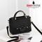 GAGNWENR Casual Leather Women's  Handbags Ladies Shopping Bag Shoulder Bags one size black 21cm*9cm*17cm