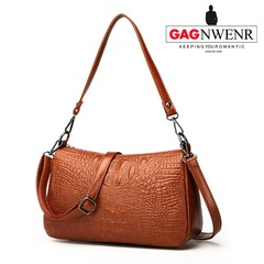 GAGNWENR Women Handbags Shoulder  bags  Fashion ladies Messenger  Crossbody   tote  Bags  Low  Price brown 29cm*10cm*18cm
